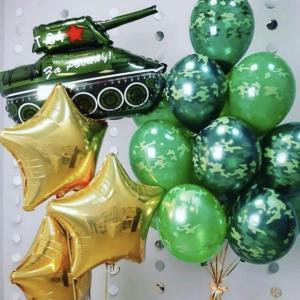 Оформление шарами праздника № 40 «23 февраля»