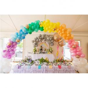 Оформление шарами свадьбы № 23
