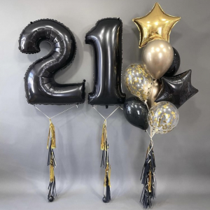 Композиция из шаров № 529 «День рождения»