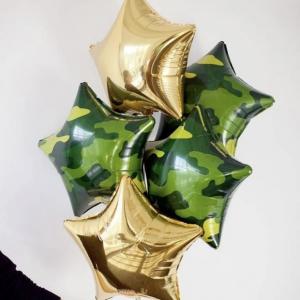 Оформление шарами праздника № 46 «23 февраля»