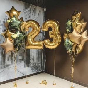 Оформление шарами праздника № 45 «23 февраля»