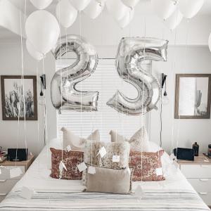 Композиция из шаров № 545 «День рождения»