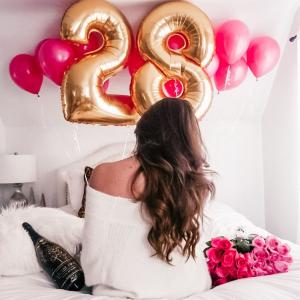 Композиция из шаров № 546 «День рождения»