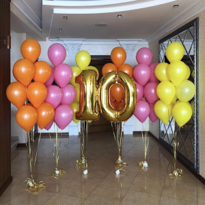 Композиция из шаров №  4 «День рождения»