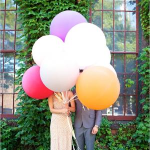 Оформление шарами свадьбы № 51