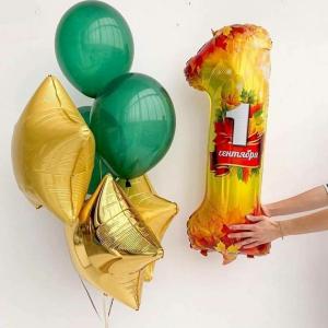 Композиция из шаров 1 сентября № 27