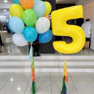 Композиция из шаров № 508 «День рождения»