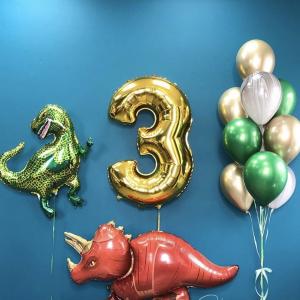 Композиция из шаров № 513 «День рождения»