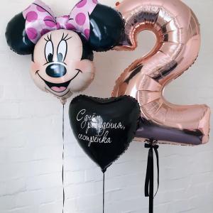 Композиция из шаров № 522 «День рождения»