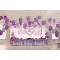 Оформление шарами свадьбы № 26