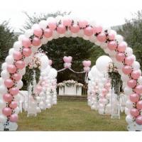 Оформление шарами свадьбы № 48