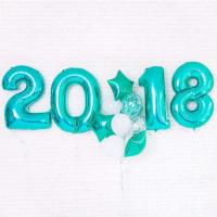 """Композиция из шаров """"Новый год №4"""""""