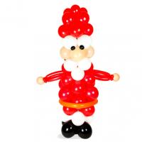 """Фигура из шаров """"Дед Мороз № 3"""""""