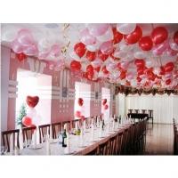 Оформление шарами свадьбы № 38