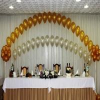 Оформление шарами свадьбы № 11