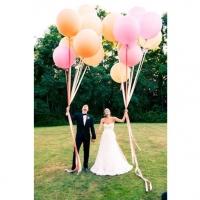 Оформление шарами свадьбы № 30