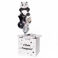 Коробка-сюрприз с шарами №33