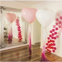 Оформление шарами свадьбы № 49