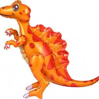 """Ходячая фигура """"Динозавр Спинозавр (оранжевый)"""""""