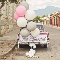 Оформление шарами свадьбы № 68