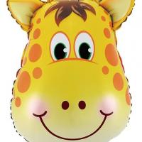 """Шар фольгированный """"Голова жирафа"""""""