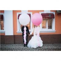 Оформление шарами свадьбы № 60