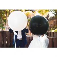 Оформление шарами свадьбы № 69
