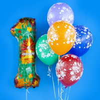 Композиция из шаров 1 сентября № 29