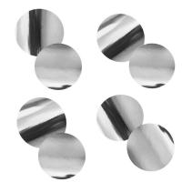 Шар гелиевый ( серебро конфетти) 30 см.