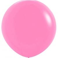 Шар воздушный светло-розовый 100 см.