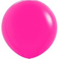 Шар воздушный розовый 100 см.