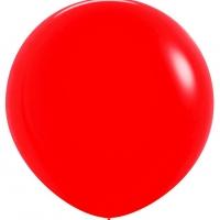 Шар воздушный красный 100 см.