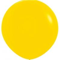 Шар воздушный жёлтый 100 см.