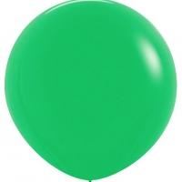 Шар воздушный зелёный 100 см.