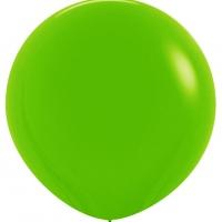 Шар воздушный светло-зелёный 100 см.