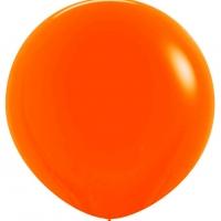 Шар воздушный оранжевый 100 см.