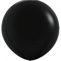Шар воздушный чёрный 100 см.