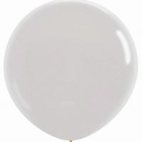Шар воздушный белый 100 см.