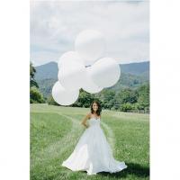 Оформление шарами свадьбы № 59