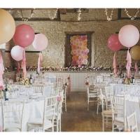 Оформление шарами свадьбы № 62