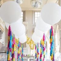 Оформление шарами свадьбы № 61
