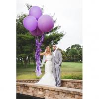 Оформление шарами свадьбы № 56